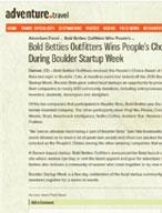 Bold Betties Outfitters Wins People's Choice Award at Boulder Beta During Boulder Startup Week